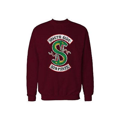 Riverdale South Side Serpents Black T-Shirt Jughead Jones Archie Andrews