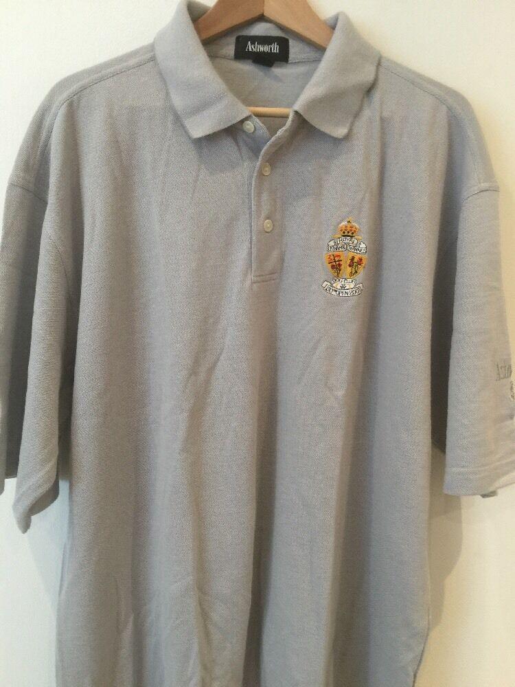 Ashwash Men's Grey T-Shirt UK XL