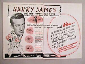Harry James double-page print ad - 1944-afficher le titre d`origine PgdkPMj4-09093148-910004753