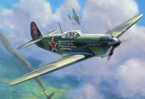 Neu Zvezda 4817-1//48 YAK-1B Soviet Fighter