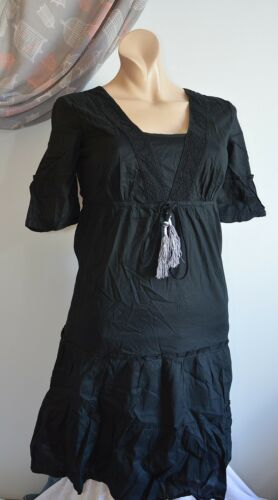 Black 36 Esprit Fine New S Dress zHwv0xqYP