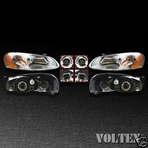 Image Is Loading 2003 2004 Chrysler Sebring Dodge Stratus Headlight Lamp