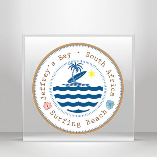Decal Stickers travel Surf Jeffrey/'s Bay South Africa be A19 3ZZ46