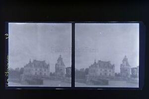 Chenonceau-Francia-Foto-Stereo-Negativo-Su-Film-Morbido-1913