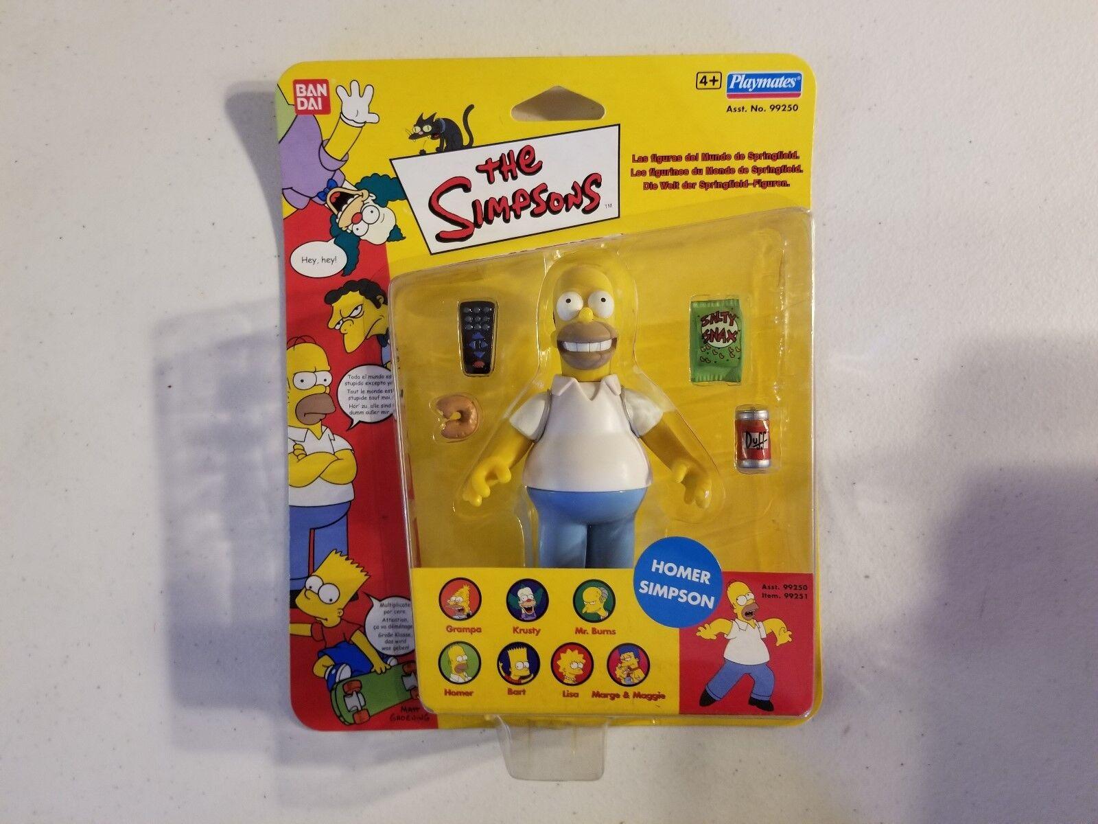 The Simpsons Homer Simpson Bandai Bandai Bandai Import Action Figure a259a2