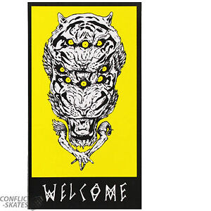 Welcome Skateboards Welcome Owlcat on Vimana Skateboard ... |Welcome Skateboards Bird Graphics