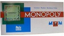 Jeu de société Monopoly de Miro en francs - Très bon état