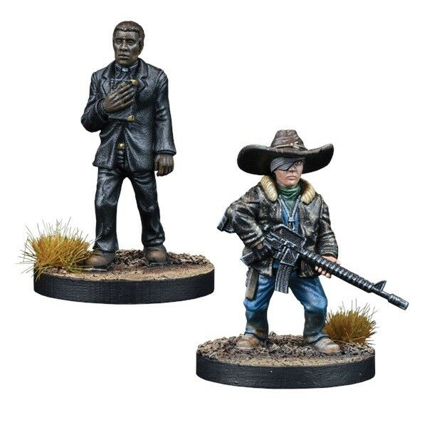 The Walking Dead All Out War - Père Gabriel Booster - Mantic - Envoyé 1ST Classe