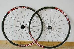 New-NOVATEC-X-TREME-Carbon-700c-wheelset-with-Alloy-Brake-surface-33MM-clincher