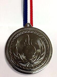 Médaille olympique d'argent métal + ruban + FREE P&P-afficher le titre d`origine AVGJK30x-07140801-839118585