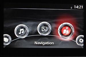 navigationssystem navi mazda cx-3 sd-karte europa original mazda