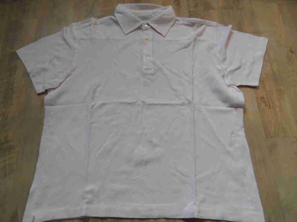 ERMENEGILDO ZEGNA Poloshirt pink Gr. XL 54 BSu1116