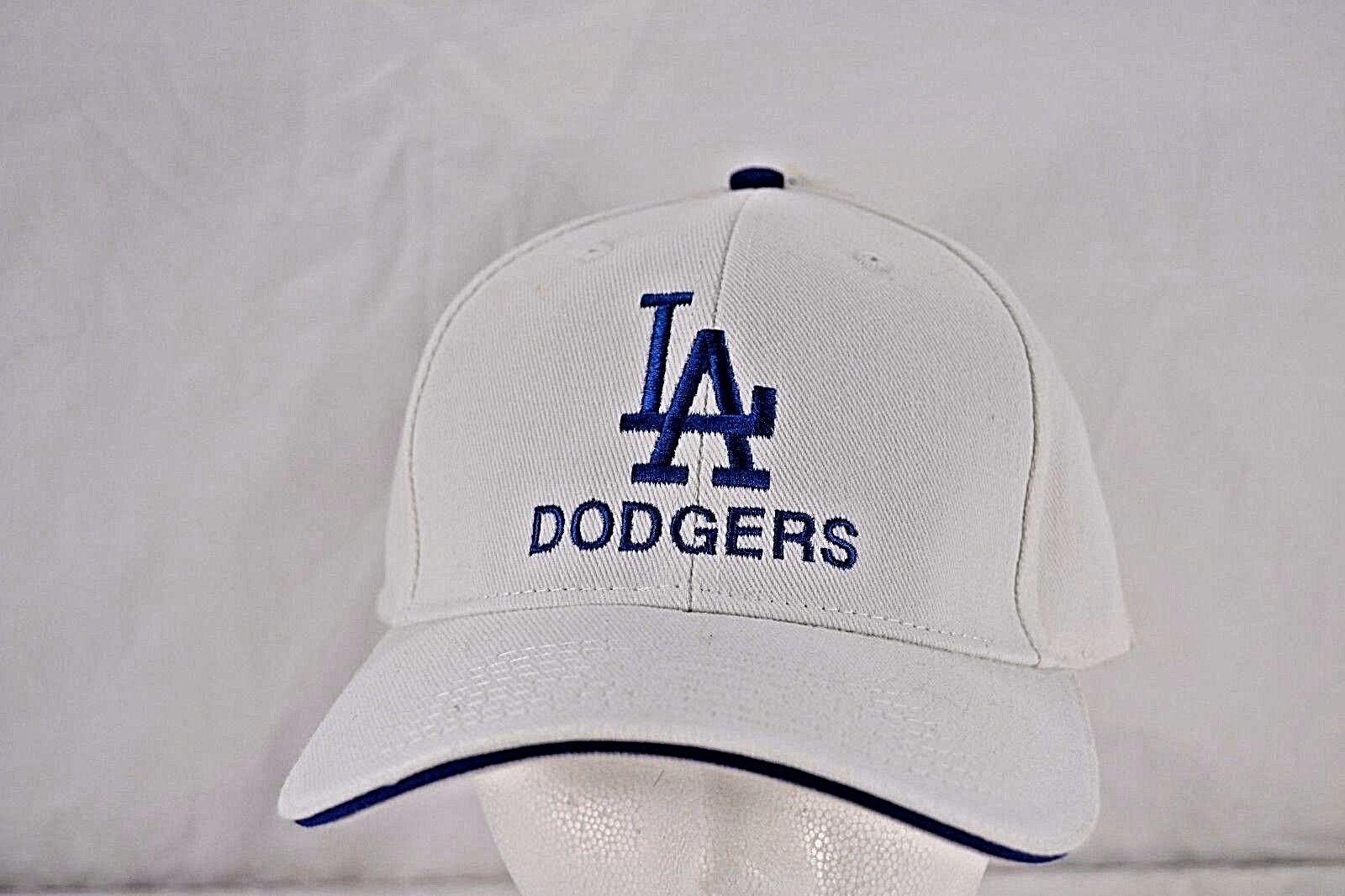 LA Dodgers  White Baseball Cap Adjustable  Dodgers NWT d14a6d