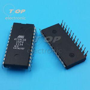 50pcs AT28C16-15PU CMOS E2PROM DIP-24 ATMEL