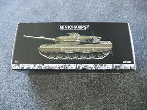 Minichamps-1-35-German-Bundeswehr-Leopard-2-Tank-Diecast-Model-350-011000