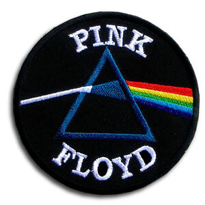 pink floyd patch iron on chopper rock biker vest rider jacket metal band music ebay. Black Bedroom Furniture Sets. Home Design Ideas