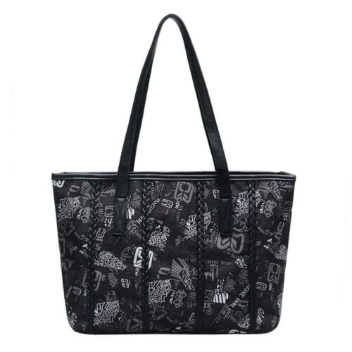Women Tote Bag PU Leather Vintage Bag Multi-Functional Handbag Shoulder Bag
