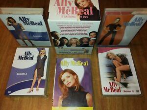 Coffret-DVD-Ally-McBeal-L-039-INTEGRALE-De-La-Serie-saisons-1-2-3-4-5-30-dvd