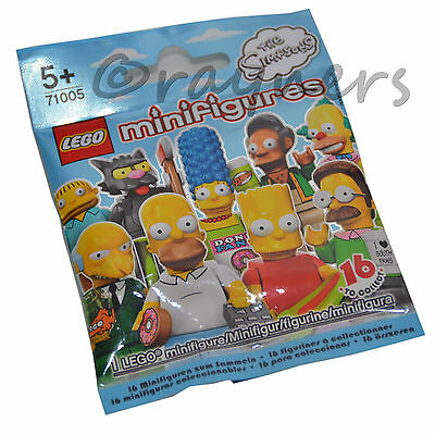 Book LEGO 71005 MARGE The Simpsons Series Minifigure Display Stand Polybag