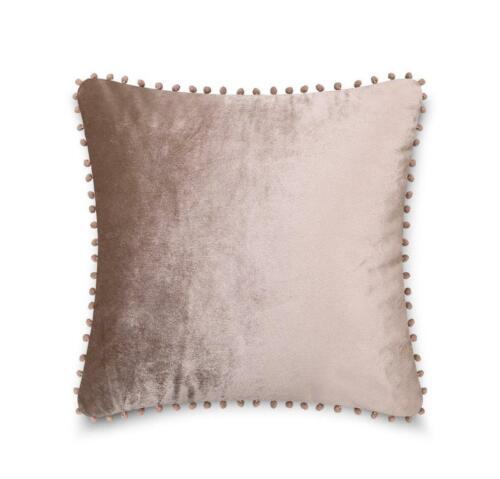 Pom Pom Housse de Coussin pour Maison Bureau Canapé Décoratif Pack de 4