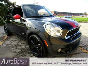 2013 MINI Cooper Paceman Cooper S Paceman ALL4 6 Speed, Accident Free!