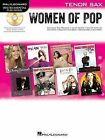 Hal Leonard Instrumental Play-Along: Women of Pop - Tenor Saxophone by Hal Leonard Corporation (Mixed media product, 2012)