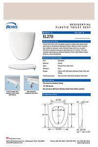 Fine Details About El270 363 Shell Toilet Seat For American Standard Creativecarmelina Interior Chair Design Creativecarmelinacom