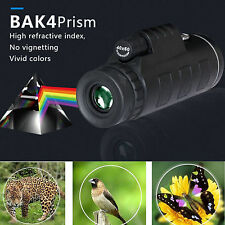 Outdoor Day&Night Vision 40X60 HD Optical Monocular Hunting Hiking Telescope WP