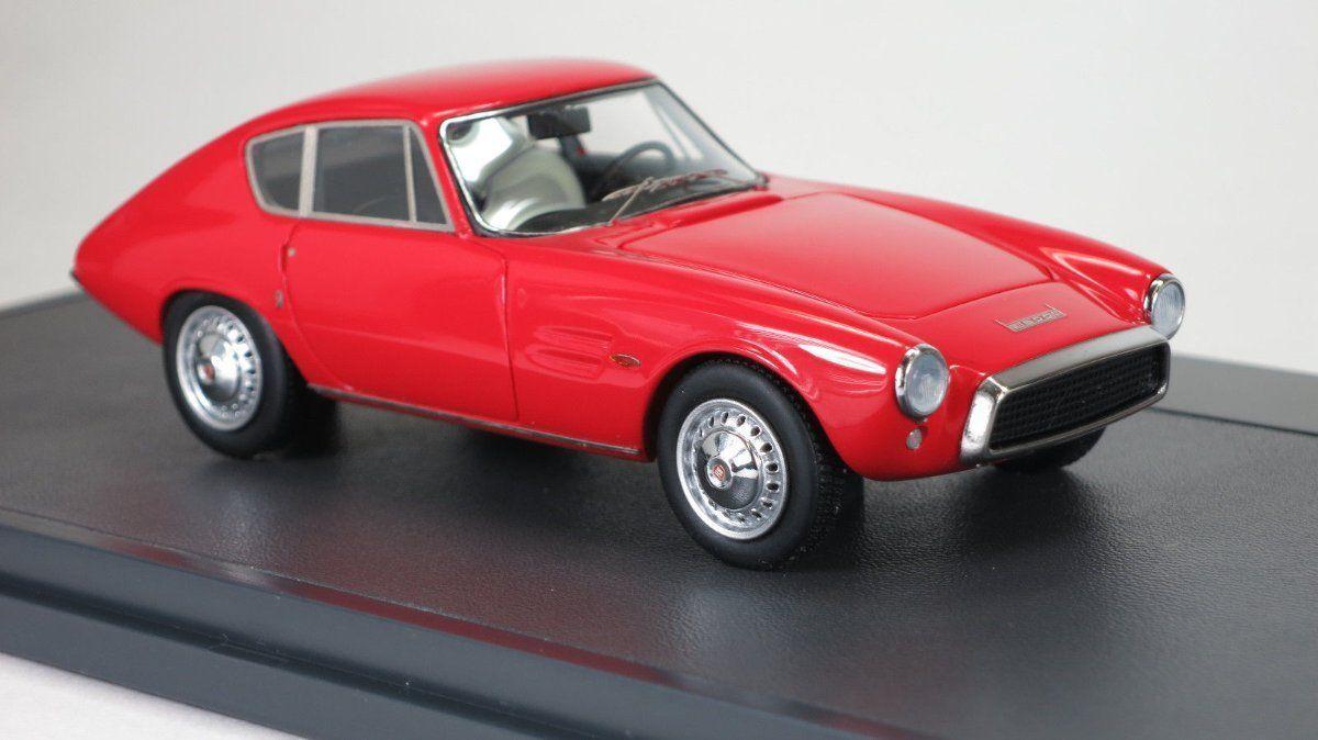 Matrix GHIA FIAT 1500 GT Coupe Rosso 1964 modello in resina di qualità, Scala 1/43