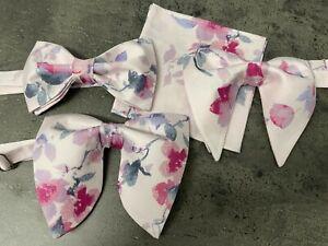 Vintage Handkerchief Bow Tie