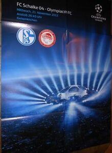 Spielplakat-FC-Schalke-04-vs-Olympiakos-FC-Champions-League-21-11-2012