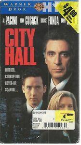 City Hall (VHS, 1996) NEW FACTORY SEALED AL PACINO BRIDGET FONDA JOHN CUSACK NOS