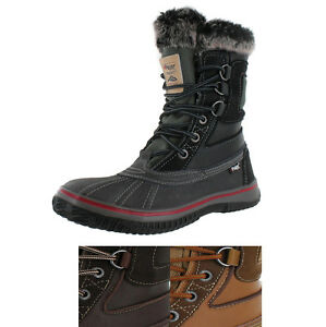Pajar Tuscan Men's Warm Lined Waterproof Leather Snow Boots