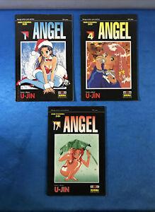 PACK COMICS MANGA TOMOS 1 4 Y 17 U-JIN - ANGEL EDITORIAL NORMA