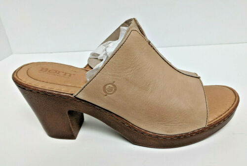 Born Wenaha Heeled Sandals, Natural Leather, Women