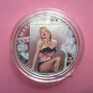 Marilyn-Monroe-85th-Anniversary-Silver-Proof-like-Coin-2011-Cook-Islands