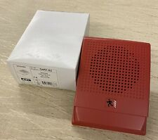 New Est Edwards G4rf S2 24v Red Fire Alarm Speaker Qty Available