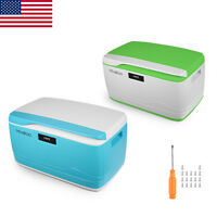 Usa Stock 32l Plastic Lid Lock Storage Boxes Digital Coded Lock Container Home