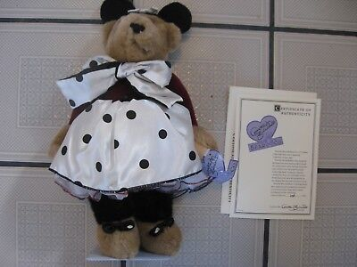 "Annette Funicello Collectible Beaar Co.-mousekebear Girl-9674-258/7500-13"" Dolls & Bears Annette Funicello"