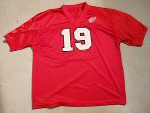 6c8221bee 90 s Detroit RED WINGS Steve YZERMAN  19 Hockey Jersey Size XL