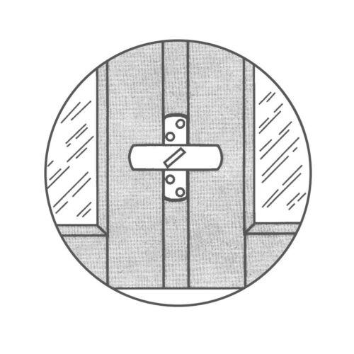 2 x proiets stuco coffre fenêtre de sauvegarde pour fenêtre de 2 ailes 21sw