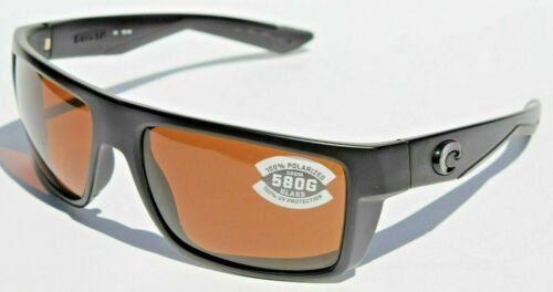 COSTA DEL MAR Motu 580 POLARIZED Sunglasses Blackout//Copper 580G $229