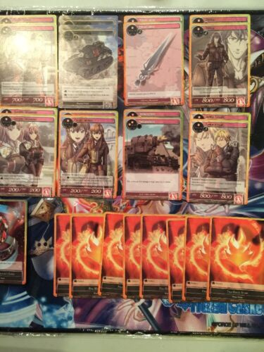 RIELA MARCELLIS DECK SET *** Fire Strategy Deck VINGOLF 2 FORCE OF WILL