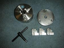 New Craftsman Dunlap Atlas 109 Lathe 3 Inch Self Centering 3 Jaw Chuck 12 20