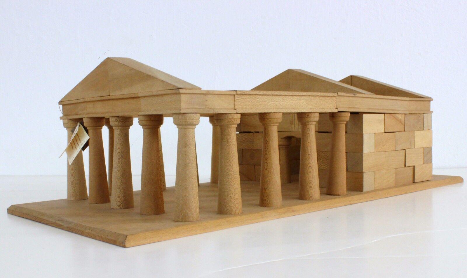 FORMAN Parthenon deal wood construction set (PARTENÓN kit en madera de pino)