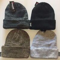 Thinsulate Cuffed Winter Long Beanie Stretch Skull Ski Knit Hat Cap 40g 3m