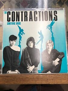 The-Contractions-Something-Broke-Original-Vinyl-Record-LP-K-614