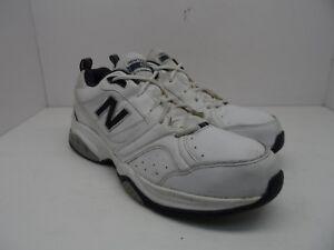 cf8dc6fb4f3 New Balance Men s MX623WN2 - 623v2 Cross-Training Shoe WHite Navy ...