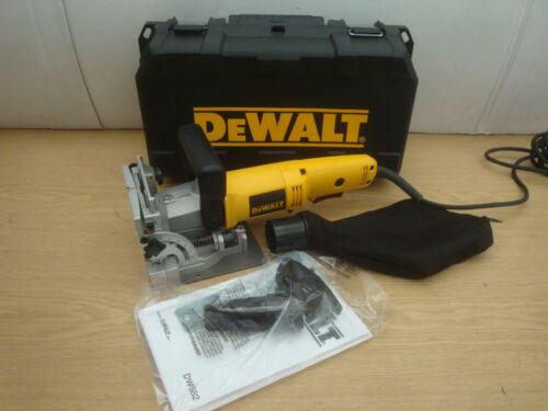 BRAND NEW DEWALT DW682K 110V BISCUIT DOWEL JOINTER 110v 100 DOWELS