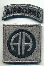 US Army 82nd Airborne ACU Patch W/Tab W/Hook Back